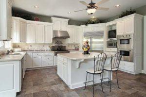luxury kitchen white